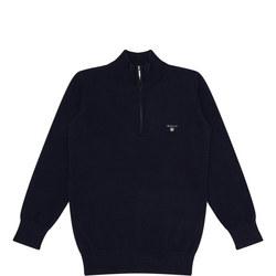 Boys Half Zip Sweater