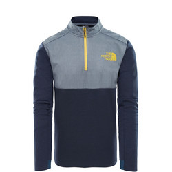 Vista Tek Quarter Zip Sweat Top