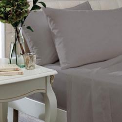 Egyptian Sateen 400 Thread Count Housewife Pillowcase Silver