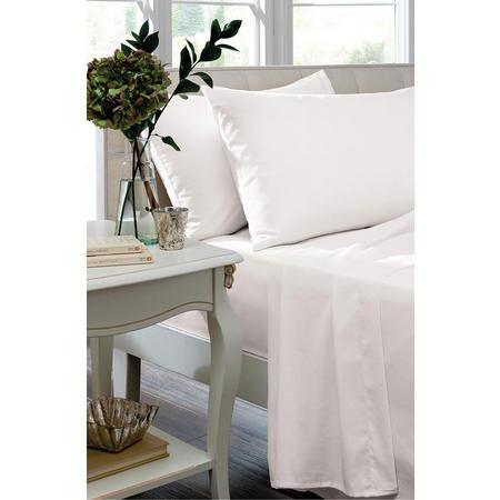 Egyptian Cotton 400 Thread Count Oxford Pillowcase White