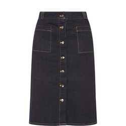 Martha Denim Skirt