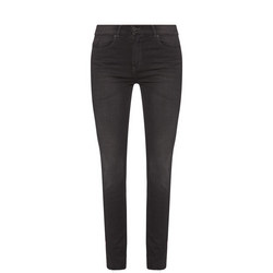 High-Rise Slim Fit Jeans