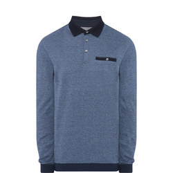 Rugby Collar Sweat Top