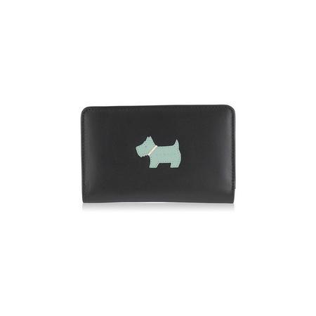 Heritage Dog Medium Zip Wallet