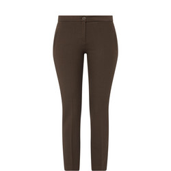 Stretched Crepe Trousers