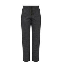 Lurex Stripe Trousers