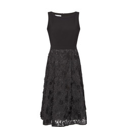 Organzo Embroidered Dress