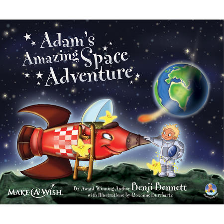 Adam's Amazing Space Adventure Book