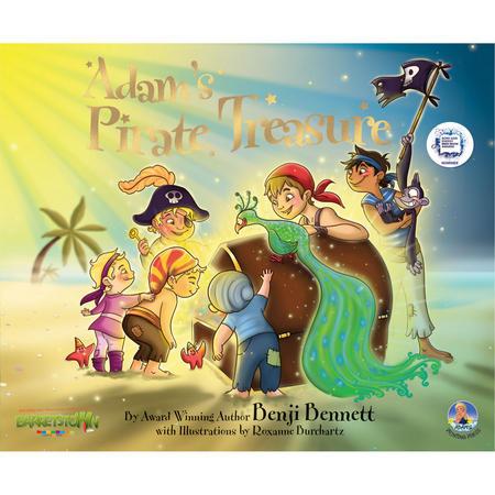 Adam's Pirate Treasure Book