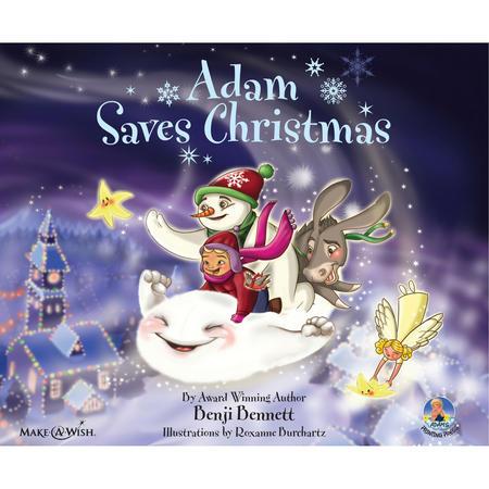 Adam Saves Christmas Book