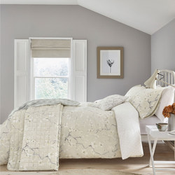 Anthea Duvet Set Grey/Linen