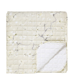 Anthea Quilted Throwover Natural
