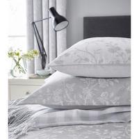 Ida Blossom Oxford Pillowcase Grey