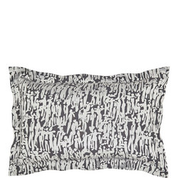 People Oxford Pillowcase Charcoal