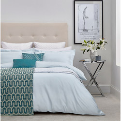 Manilla Aqua Coordinated Bedding