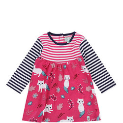 Kitten Print Dress