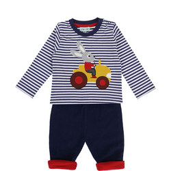 Bunny Tractor Outfit Set