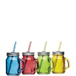 Mini Drinks Jars Glass
