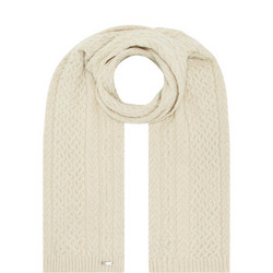 Aran Knit Scarf