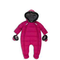 Fur Trimmed Snowsuit