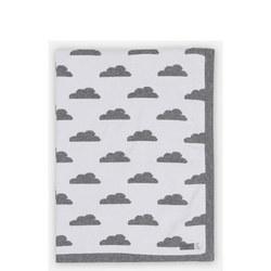 Knitted Cloud Reversible Blanket
