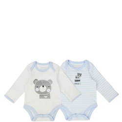 Two-Pack Tiny Bear Bodysuits