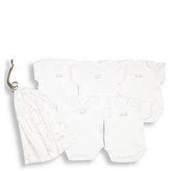 Five-Pack Short Sleeve Sleepsuits