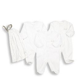 Three-Pack Unisex Sleepsuits