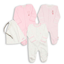Three-Pack Pastel Bodysuits