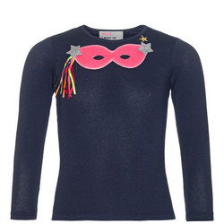 Girls Mask Long Sleeve T-Shirt