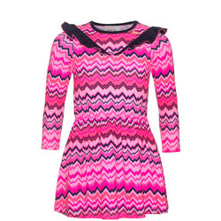 Girls Zig Zag Dress