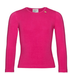 Girls Long Sleeve T-Shirt Pink