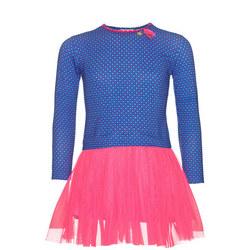 Girls Tutu Dress Blue