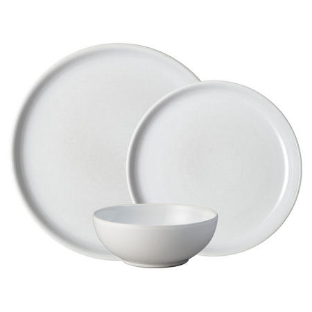 Intro Stone White 12 Piece Tableware Set