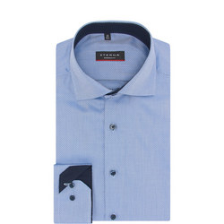 Geometric Diamond Print Shirt