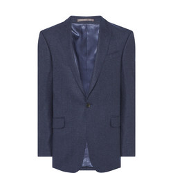 Speckled Wool Suit Jacket