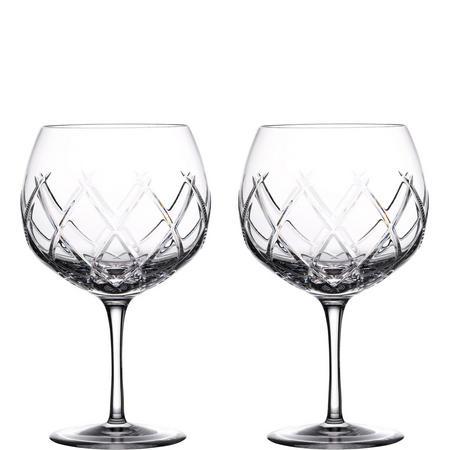 Olann Gin Balloon Glasses Set Of Two