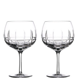 Cluin Gin Balloon Glasses Set Of Two