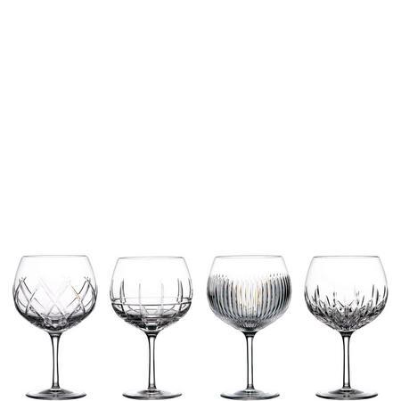 Gin Balloon Glasses Set Of Four