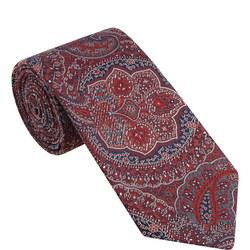 Paisley Pattern Silk Tie