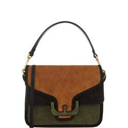 Ambrine Suede Crossbody Bag