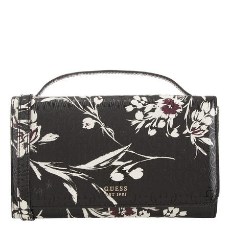 a49e33381c Tamra Black Floral Crossbody Bag