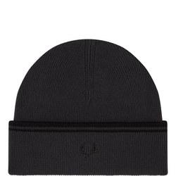 Twin Tipped Wool Beanie Hat