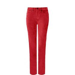 Sheri Slim Velvet Jeans