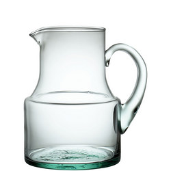 Croft Collection Recycled Glass Jug, 1.5L