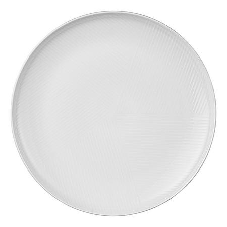 Design Project by John Lewis No.098 Coupe 28cm Plate, White