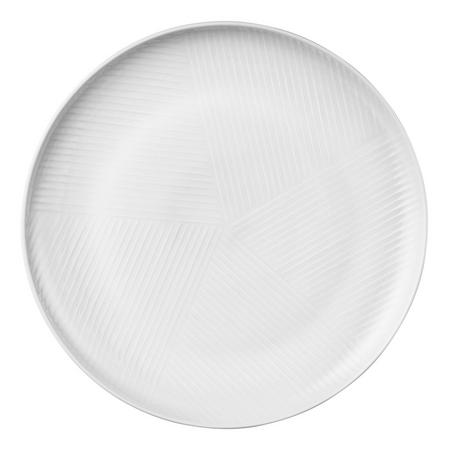 Design Project by John Lewis No.098 Coupe 23cm Plate, White