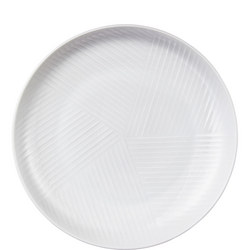 Design Project by John Lewis No.098 Coupe 17cm Plate, White