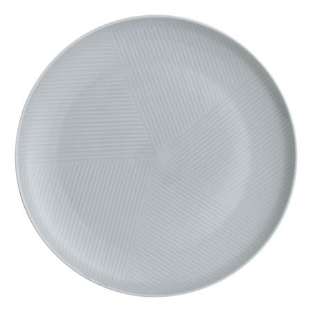 Design Project by John Lewis No.098 Coupe 28cm Plate, Grey
