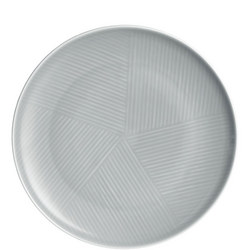 Design Project by John Lewis No.098 Coupe 23cm Plate, Grey